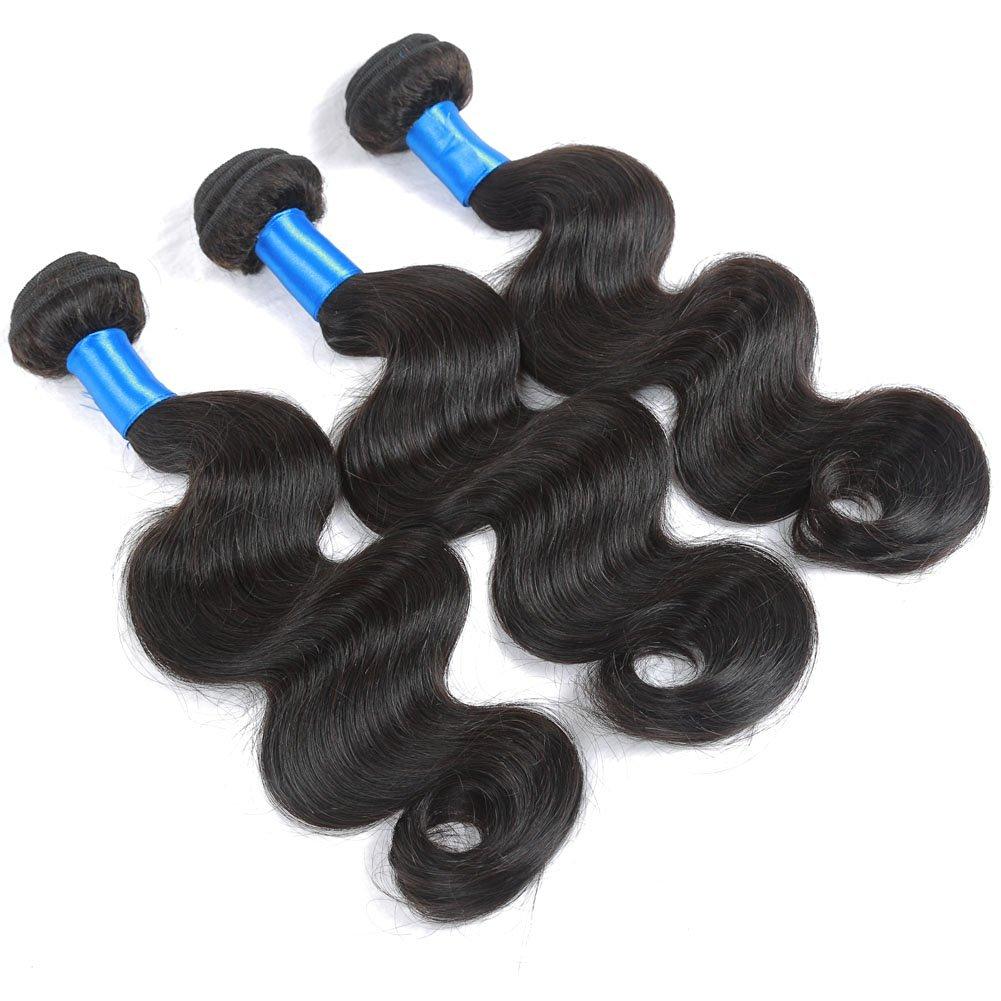 3 Virgin hair bundles